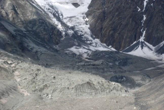 The landslide buried Sergei Bodov