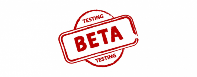 Что значит beta версия сайта, программы