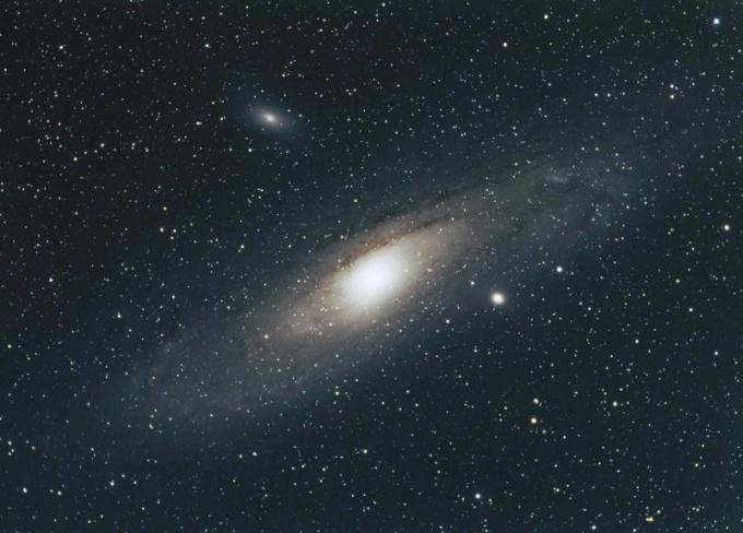 Так выглядит фотография, сделанная с помощью телескопа