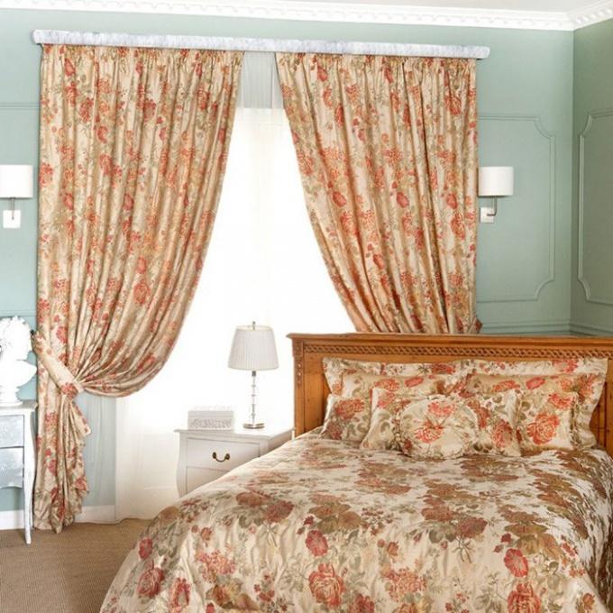 Как стирать и гладить шторы из жаккарда
