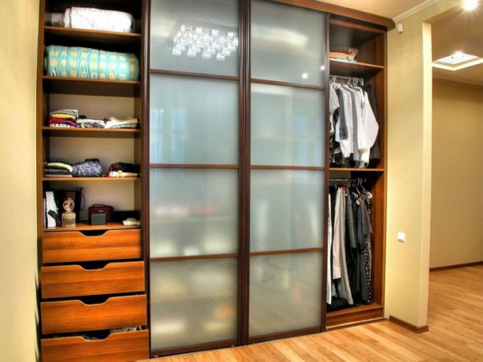 Встроенный шкаф своими руками – несколько пригодных советов...