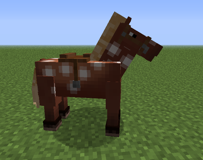They eat horses in minecraft