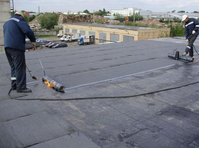 Как долго служит крыша, крытая рубероидом