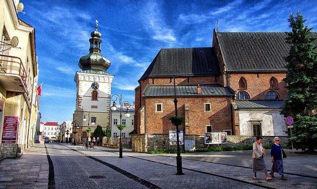 Улочка старинного польского города