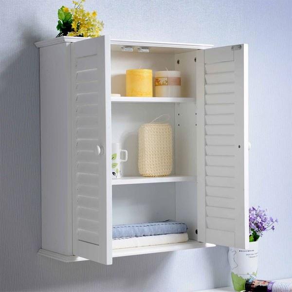 Шкаф навесной для ванной: разновидности и особенности выбора