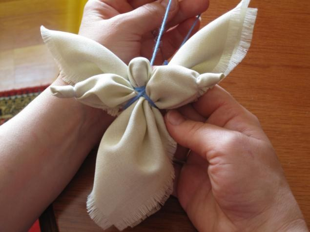 Как сшить ангела из ткани своими руками