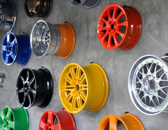 Порошковая и акриловая покраска дисков очень разнятся по технологии нанесения