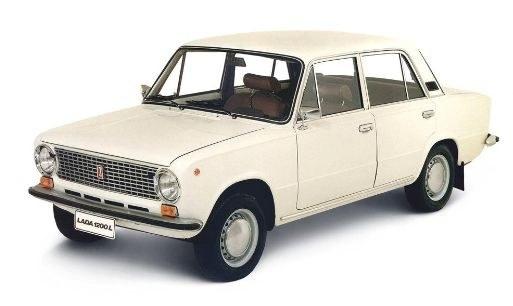 Легендарная ВАЗ 2101 - детище концерна Фиат