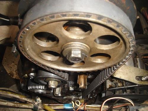 Timing belt for VAZ 2110: ten