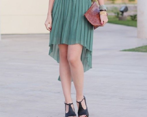 Как можно сшить ассиметричную юбку