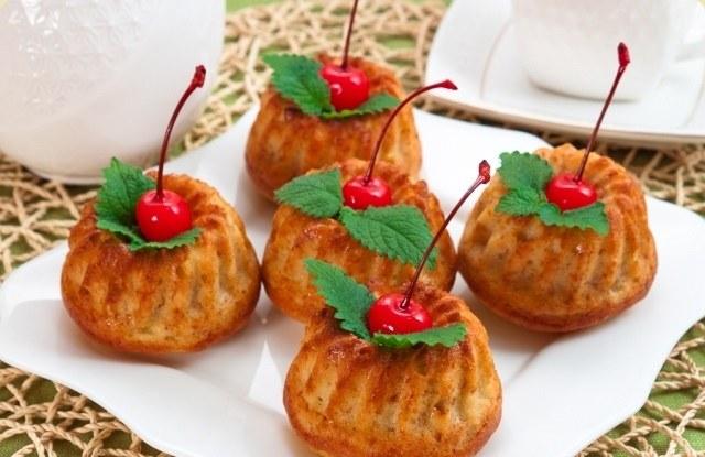 Маффины - вкусная выпечка для сладкоежек