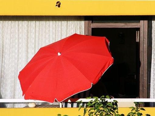 Зонт из акрилового волокна