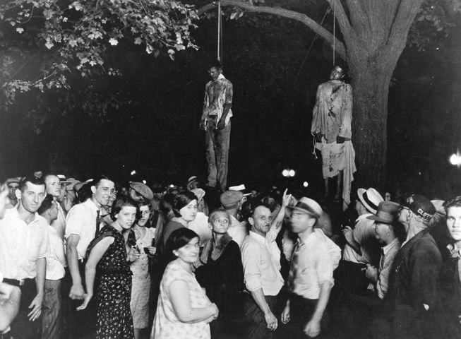 Линчевание негров в США в начале 20 века