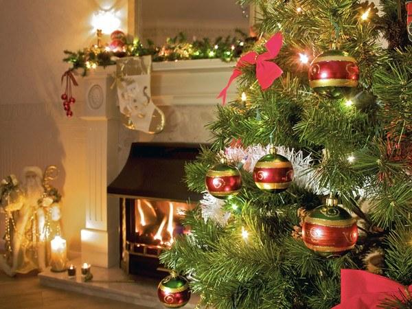 Новогодняя елка в старинном стиле