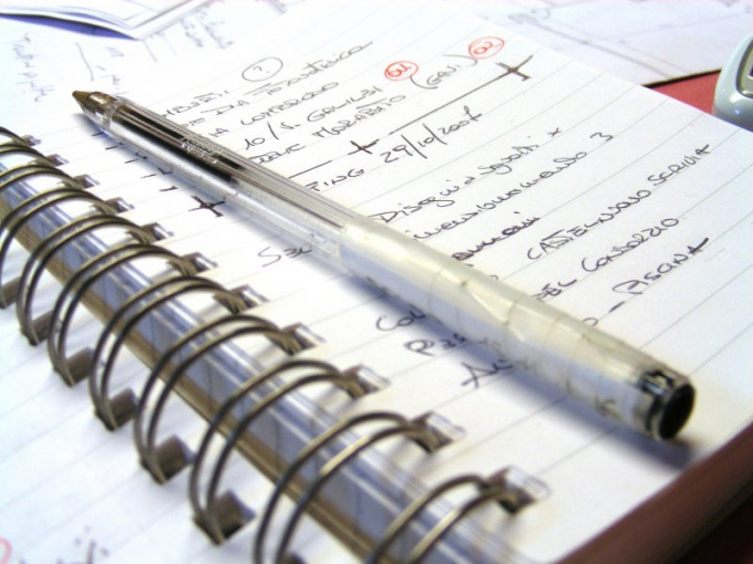 Как правильно составить план для написания статьи