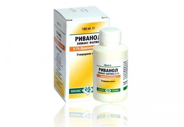 "Why pharmacies can not buy the solution of ""Rivanol"""
