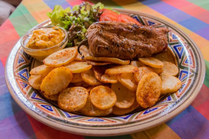 Жареный картофель без масла - блюдо для желающих похудеть