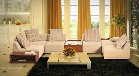 Выбираем мягкую модульную мебель