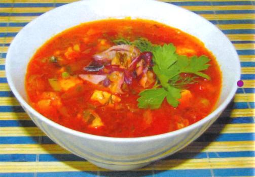 Суп «Морской прибой»