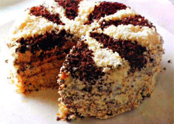 """Как приготовить торт """"Махровый"""""""