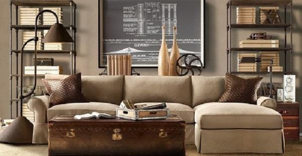 Стиль стимпанк в интерьере: цвет, материалы, мебель и декор