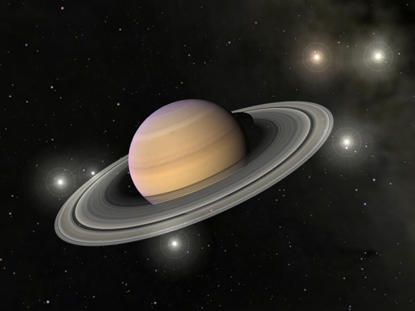 Крупнейшие спутники Сатурна