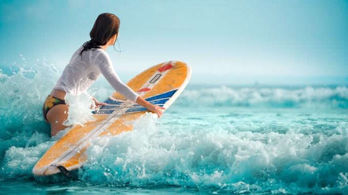 Серфинг и фитнес-туризм