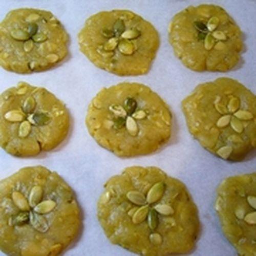Вкусное тыквенное печенье с розмарином