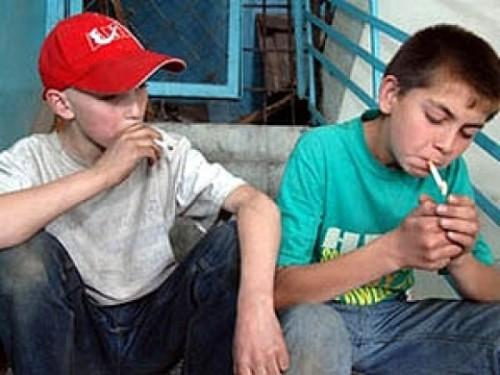 Если подросток курит