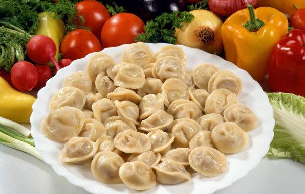 selection of dumplings