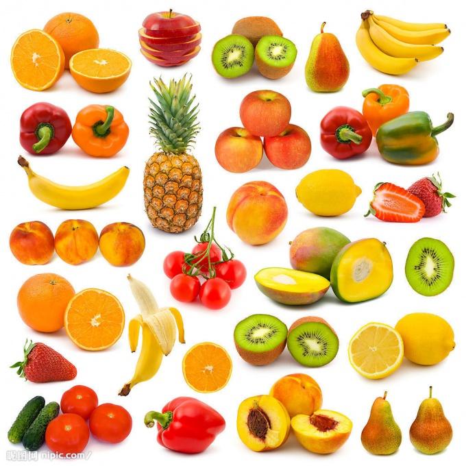 8 групп продуктов, содержащих антиоксиданты