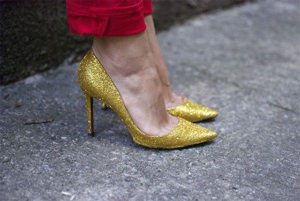 Обновление старых туфель