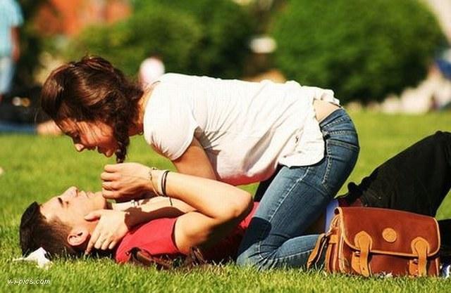 girlfriend and boyfriend together
