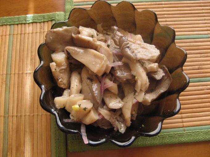 Вешенки рецепт по-корейски с фото