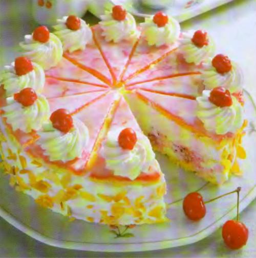 Голландский вишневый торт