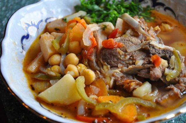 Как сварить суп бозбаш
