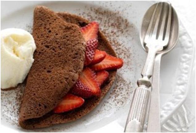 Как приготовить шоколадный омлет