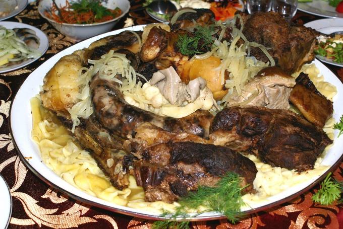Как готовится бешбармак по-казахски