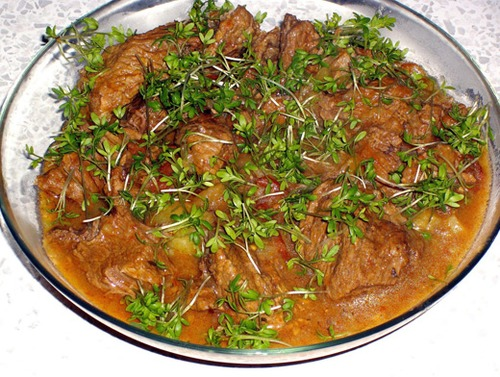Как приготовить свинину в тыквенном соусе
