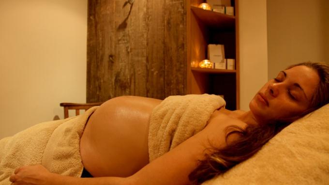 Эфирные масла во время беременности