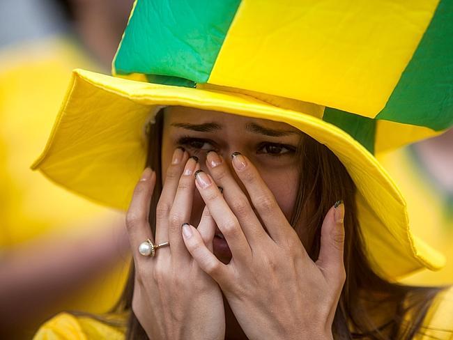 Полуфинал ЧМ 2014 по футболу: Бразилия - Германия