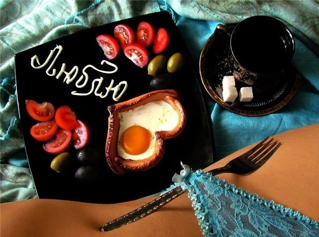 Выходной с любимым: создаем меню для завтрака
