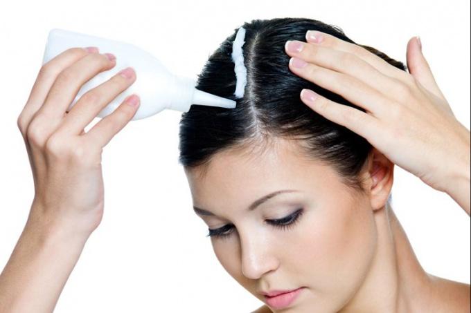 Как поменять цвет волос с черного на каштановый