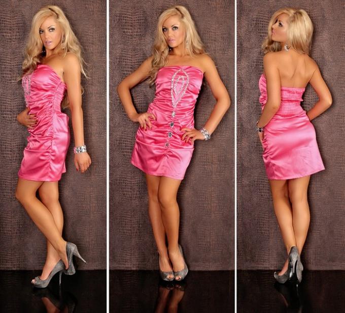 Какую ткань выбрать для коктейльного платья