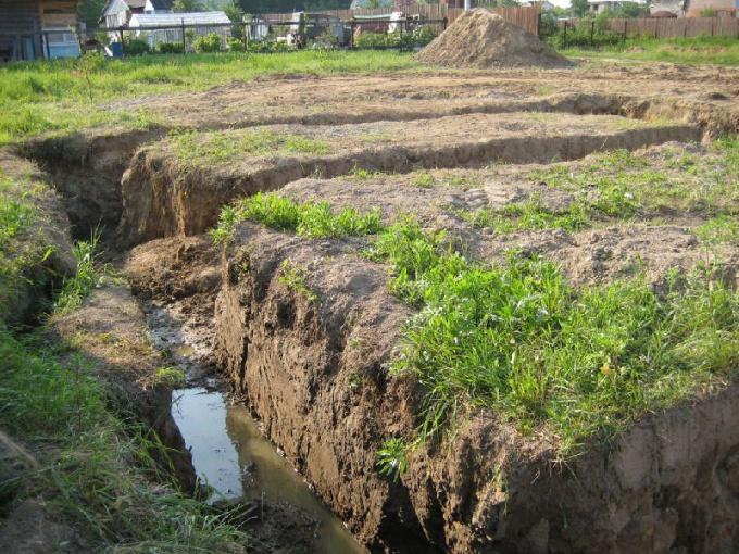 Какой фундамент сделать, если близко грунтовые воды