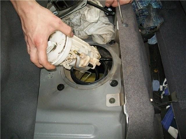 Сетка насоса предназначена для грубой очистки топлива