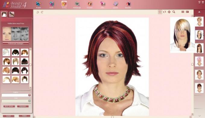 Как изменить прическу на фото в интернете