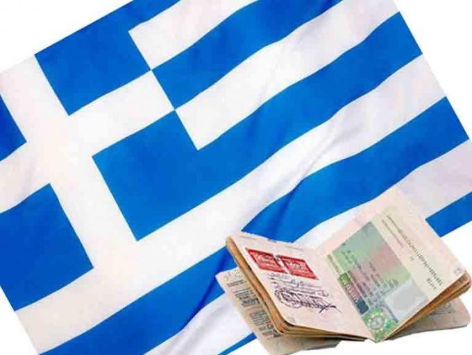 Шенгенская виза для выезда в Грецию