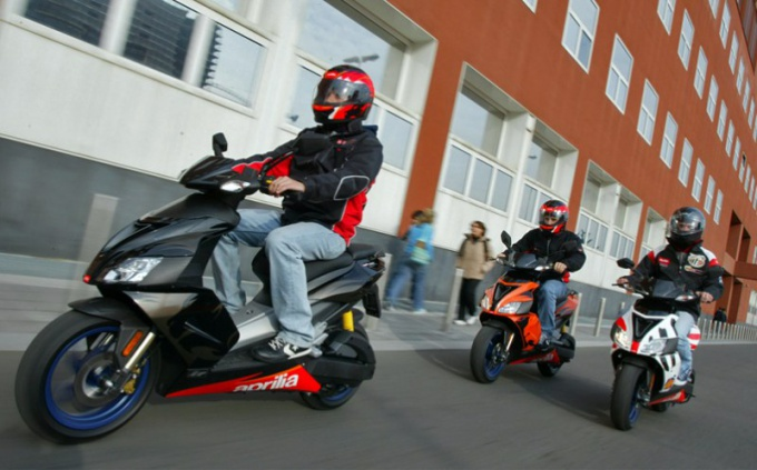 Where can I take the exam on driving a scooter