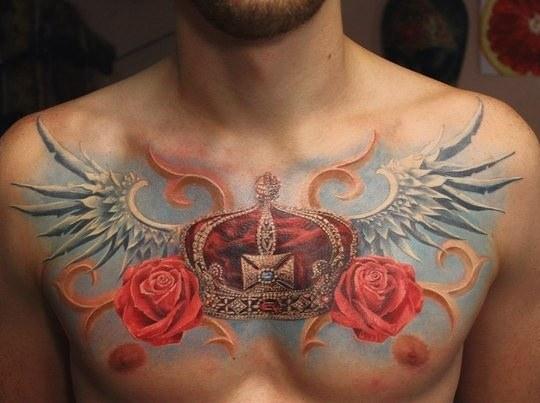 Корона с крыльями